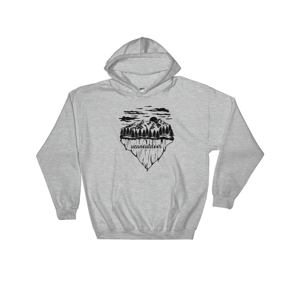 UCAN Mountain Theme Hoodie - UCAN Outdoor Co.