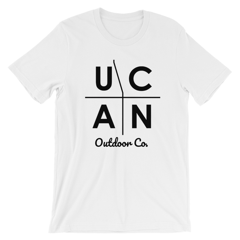 Original UCAN Logo Unisex Tee - UCAN Outdoor Co.