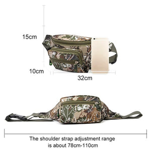 Mountain Road Bicycle Bike 2 In 1 Camo Trunk Bags Cycling Double Side Rear Rack Tail Seat Pannier Pack Luggage Carrier