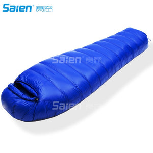 Outdoor Summit 0°F - 20°-30°F Down Sleeping Bag, 1000 Fill Power, 4 Season, Mummy, Ultralight, Camping, Hiking