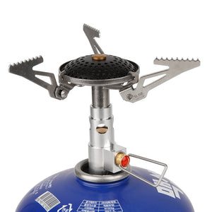 Lightweight Foldable Portable Gas Backpacking Stove