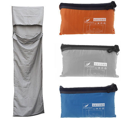 Ultralight Outdoor Sleeping Bag Liner Polyester Pongee Portable Single Sleeping Bags Camping Travel Healthy Outdoor Sleeping Bag