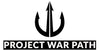 Project War Path logo has a trident to represent the sea and Navy SEALs.