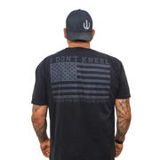 I Don't Kneel T-shirt (STEALTH Black)
