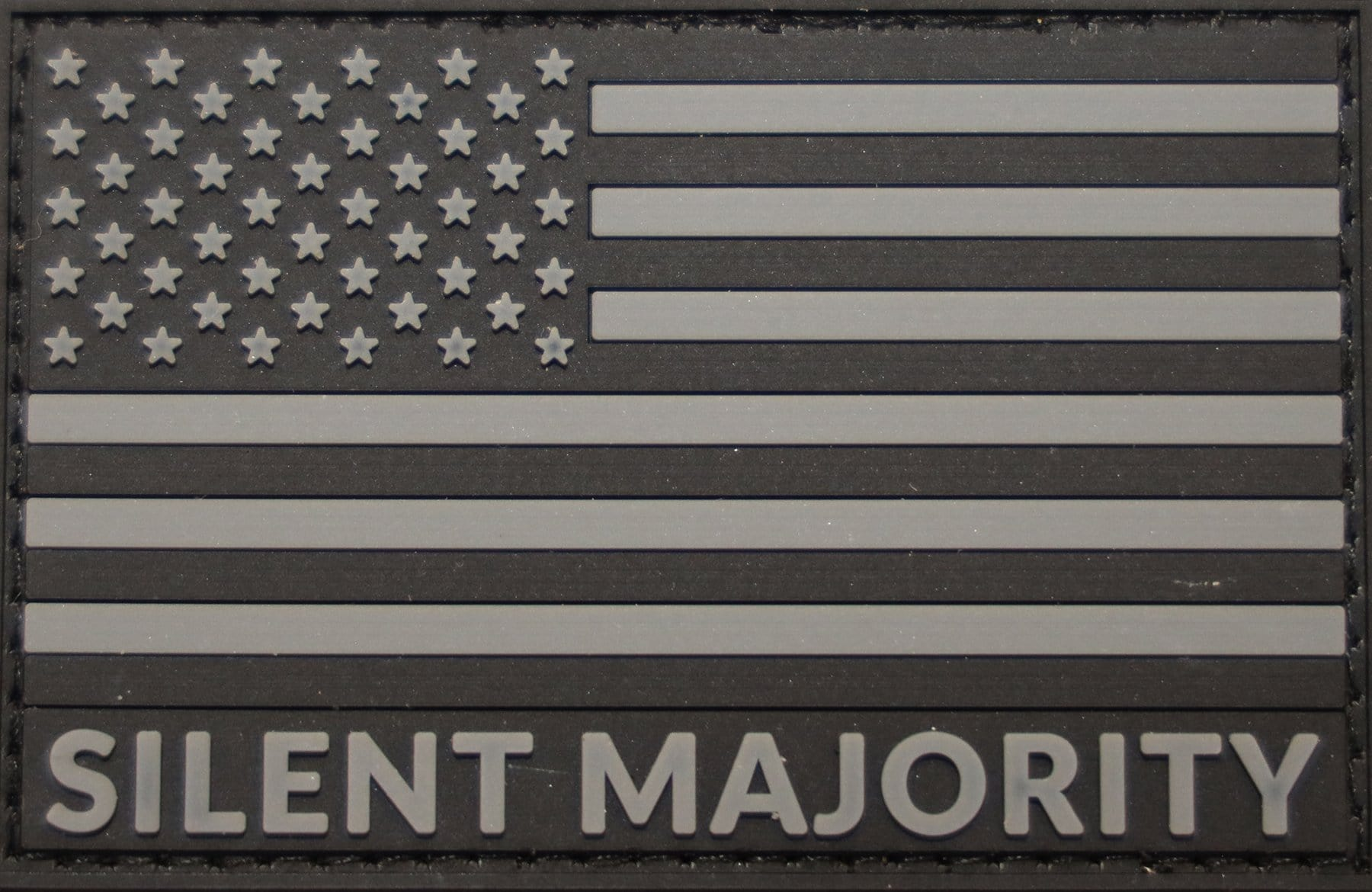 Silent Majority PVC Patch