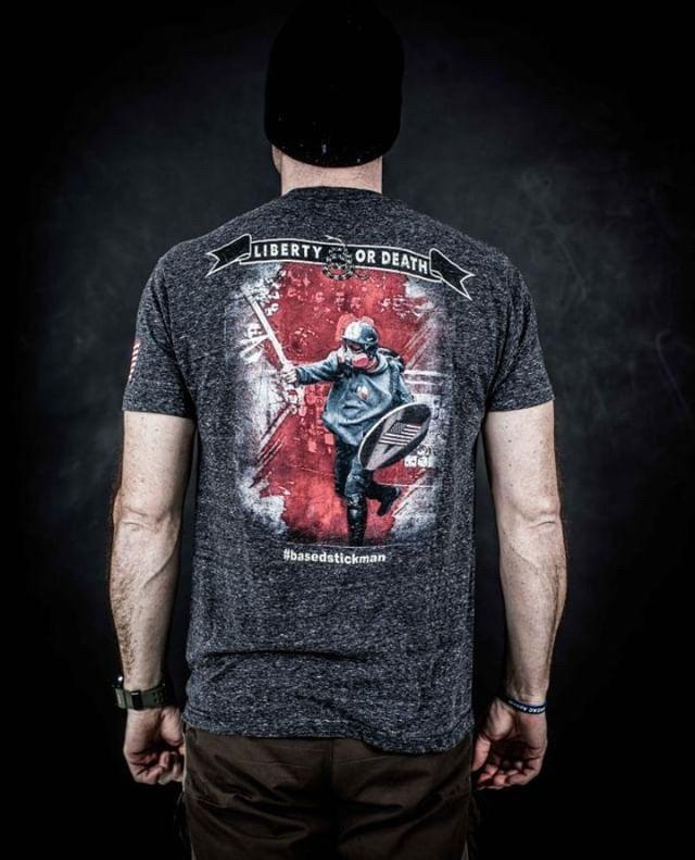 Liberty or Death T-shirt | Project War Path - Project War Path