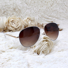 Image of BROWN-TINT AVIATORS