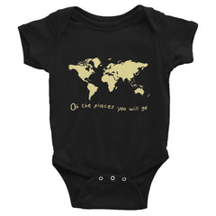 Image of OH THE PLACES YOU WILL GO BODYSUIT