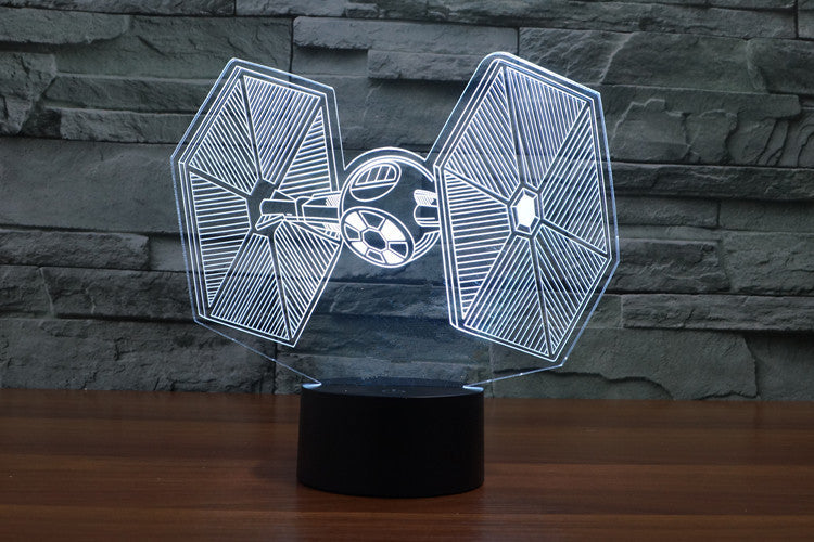 Star Wars Tie-Fighter Lamp - 3D Light Lamps