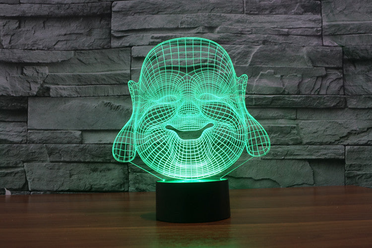Maitreya 3D LED Night Light Lamp - 3D LED LAMP 3DLightLamps.com