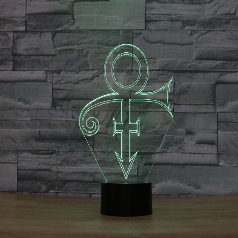 Prince The Legend 3D LED Night Light Lamp - 3D LED LAMP 3DLightLamps.com