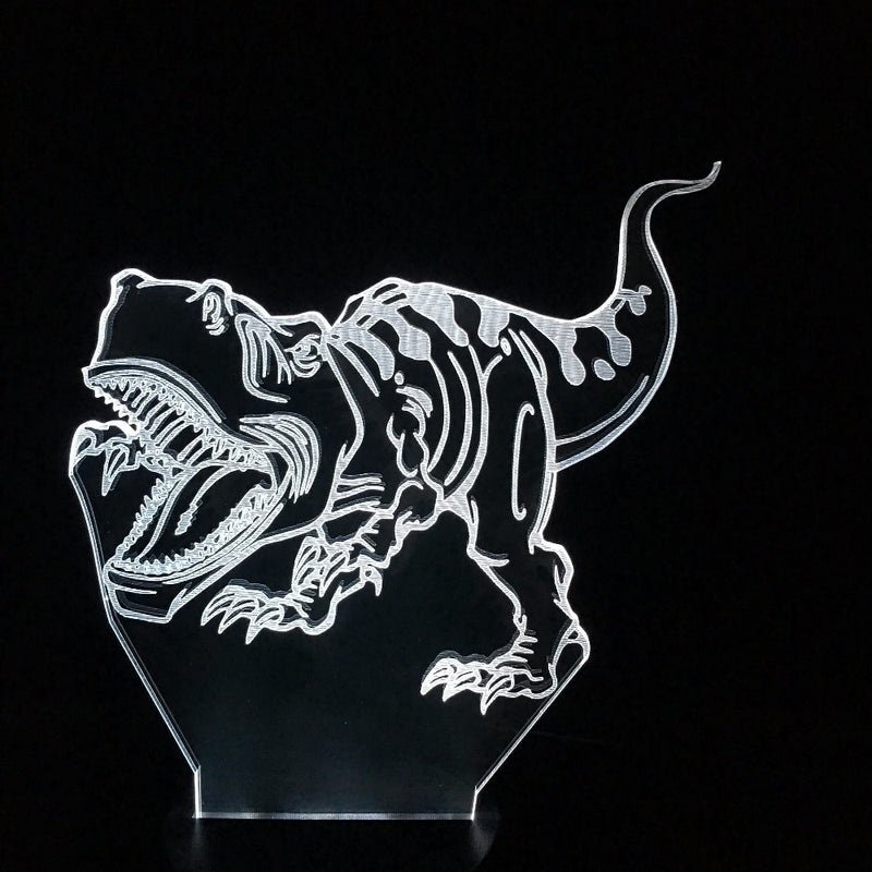 T-Rex Charging 3D LED Lamp - 3D LED LAMP 3DLightLamps.com