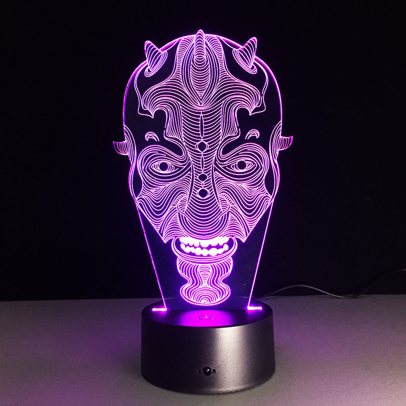 Star Wars 3D LED Lamp - 3D LED LAMP 3DLightLamps.com