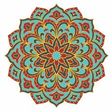 RADIANT BEAUTY MANDALA - POOL MOSAIC