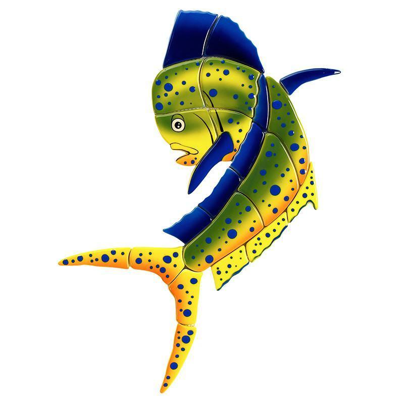Mahi Mahi-Upward MM41 Ceramic Mosaic
