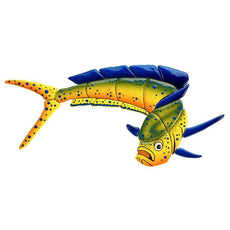 Mahi Mahi-Downward MM14 Ceramic Mosaic