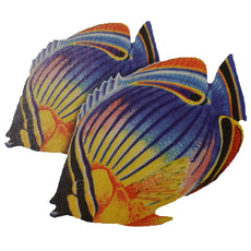 Redfin Butterflyfish (Double) Porcelain Mosaic