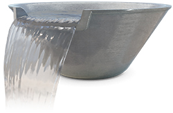 Pentair MagicBowl® Water Effects Pewter Color 580043 Available InStore Only!
