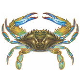Blue Crab Porcelain Mosaic