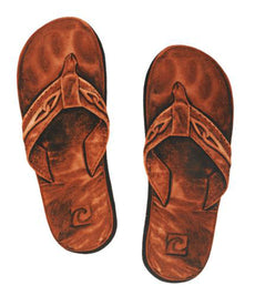 Leather Sandals Porcelain Mosaic