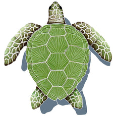 Loggerhead Turtle with Shadow Green<br>Click to View Colors and Sizes