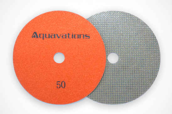 Hydro abrasives Flex Discs<BR>Clip To View Size and Grit