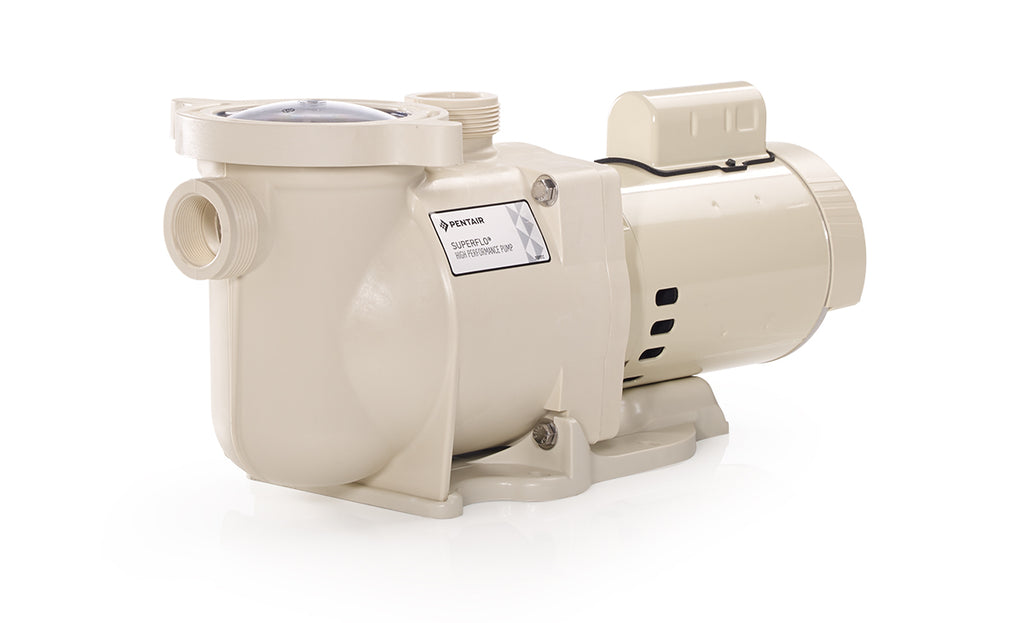 PENTAIR SUPERFLO®<BR> Single Speed Pool Pumps