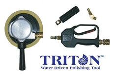 Triton™ water driven polishing tool