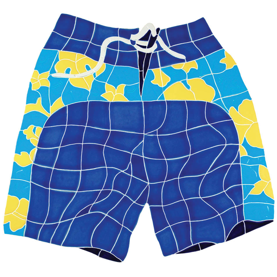 Board Shorts Blue