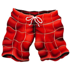 Red Swimtrunks ST68R Ceramic Mosaic