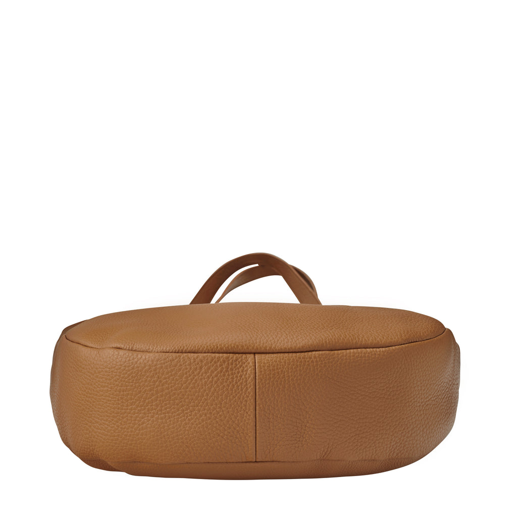 Appointed Large Leather Tote - Tan
