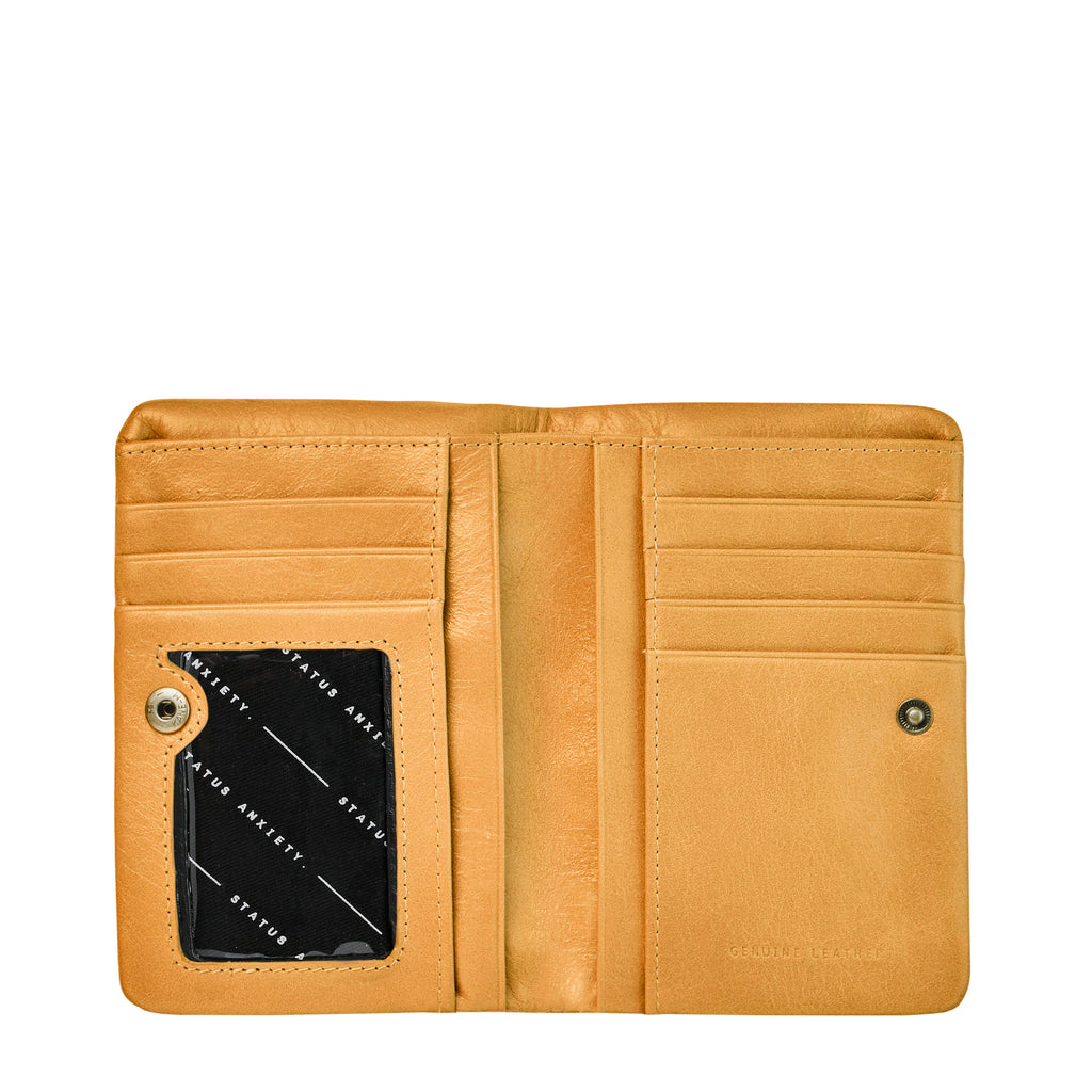 Is Now Better Leather Wallet - Tan