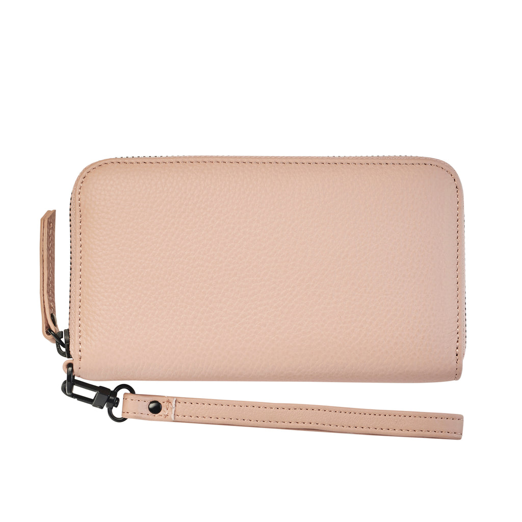 Moving On Wallet - Dusty Pink