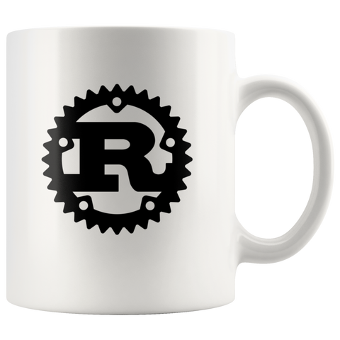 Rust Logo 11oz Coffee Mug / Cup