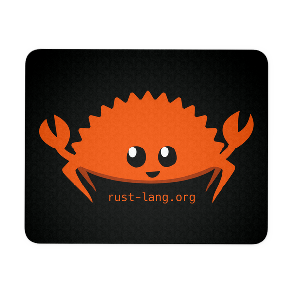 Happy Rustacean Mousepad