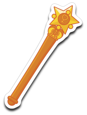 Venus Wand Decal