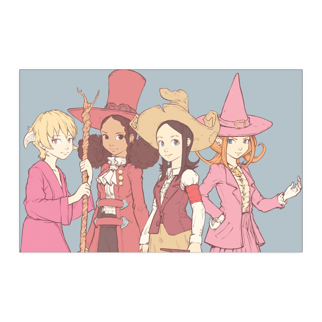 Witch Friends Poster