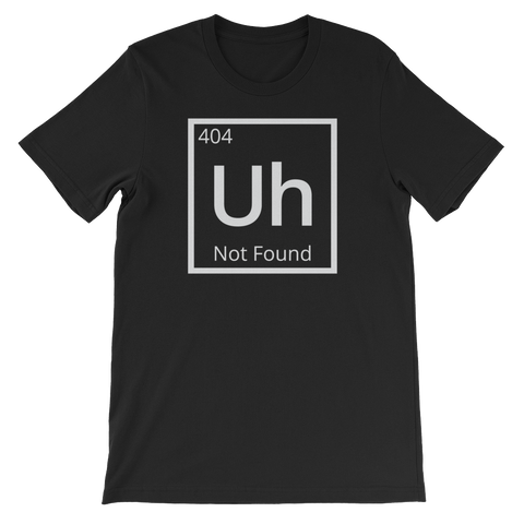 404: Element Not Found T-Shirt