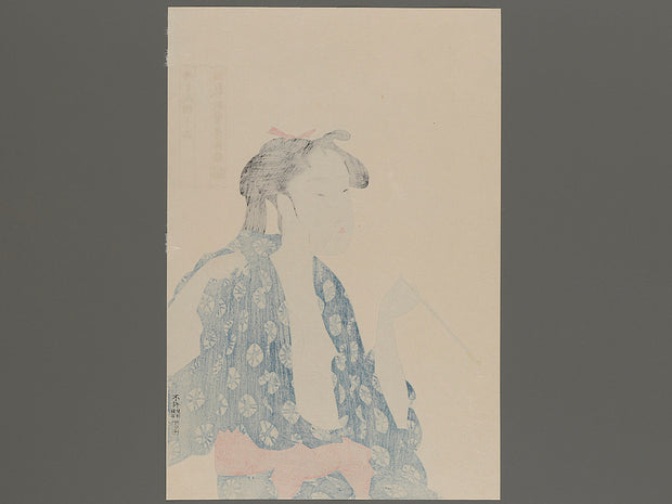 Bijin-ga by Utamaro / BJ222-635