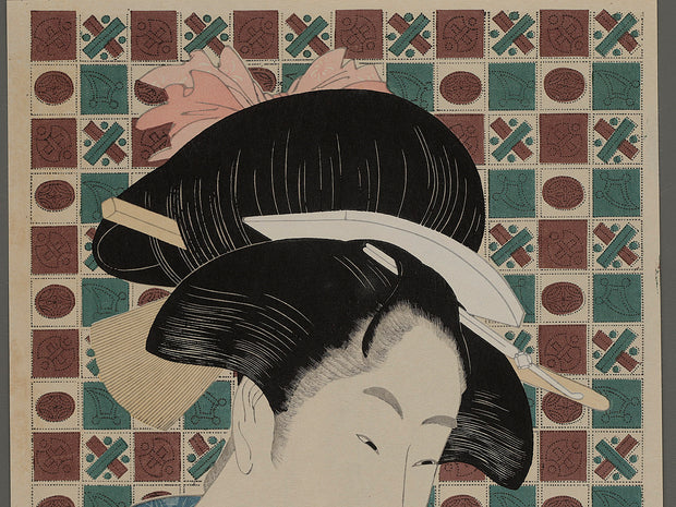 Bijin-ga by Utamaro / BJ223-146