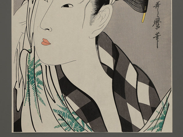 Bijin-ga by Utamaro / BJ220-080