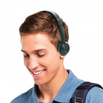 Basic Adjustable Stereo Headphones for Children and Seniors
