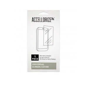 Accelorize 1pk Universal Screen Protector