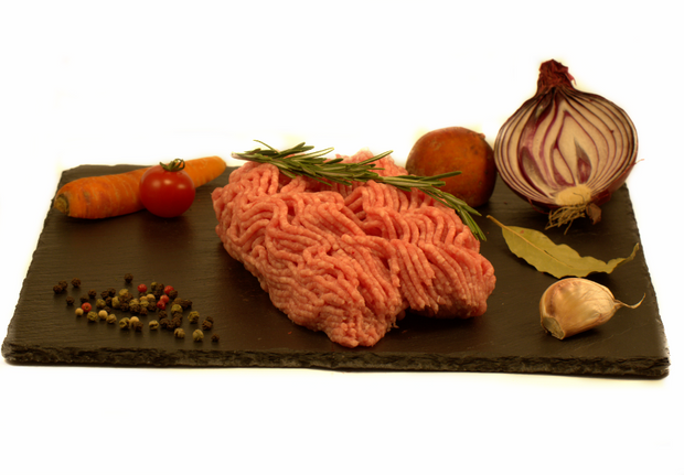 Dinde hachée / Ground turkey - 1.98$/100 g - vendu en +ou- 500g (environ 9.90$)