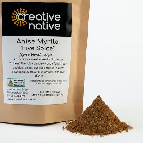 Herbs & Spices - Anise Myrtle 'Five Spice'