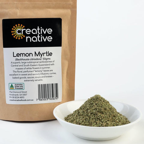 Herbs & Spices - Lemon Myrtle (Dried & Ground)