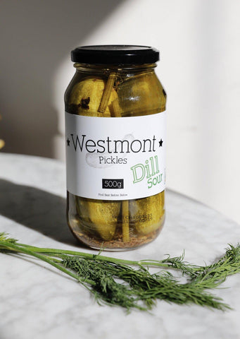 Westmont, Pickles 2 Pack (500g Dill Sour & 500g Chilli)