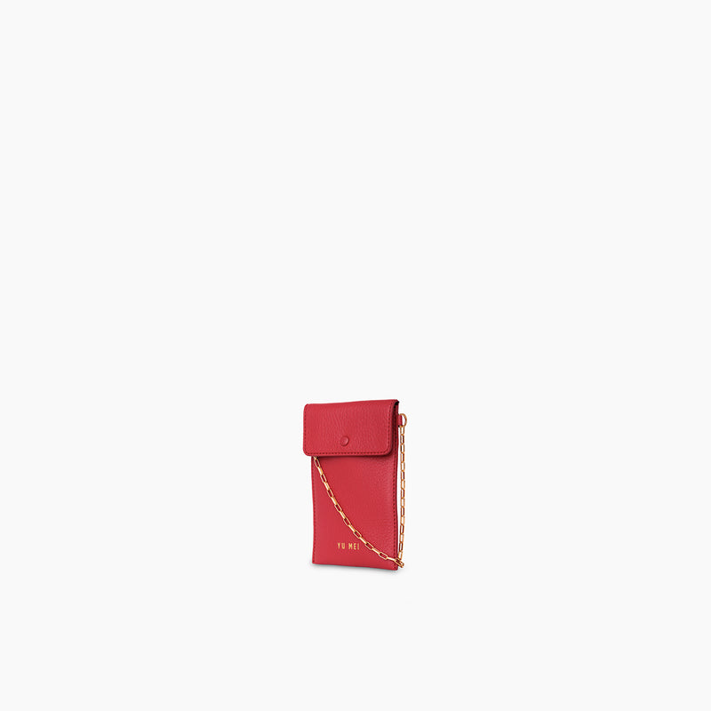 Luci Bag | Pompeian Red