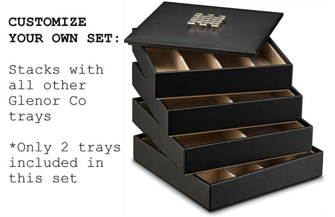 Stackable Jewelry Tray Organizer - Empty