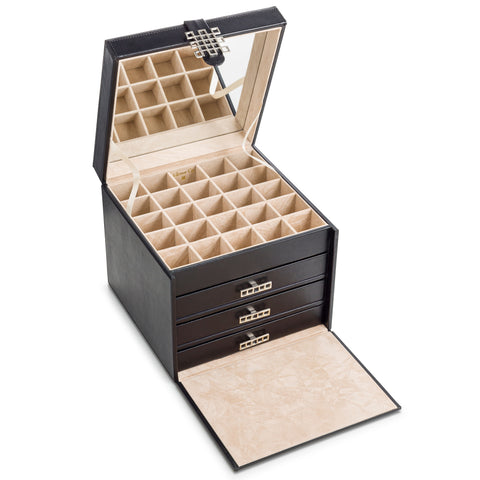Earring Organizer Box -  75 Small & 4 Large Slots